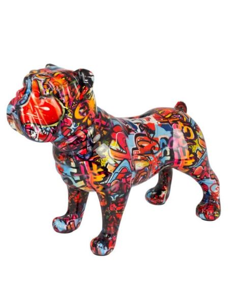 POMME PIDOU Tirelire Bulldog Bodhi XL assorti