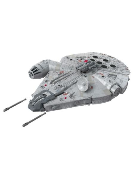 Star Wars - Vaisseau Deluxe Faucon Millenium et figurine Han Solo - Jouet Star Wars
