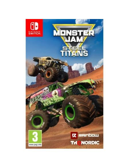 Monster Jam : Steel Titans - Jeu Nintendo Switch