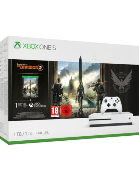 Xbox One S 1To + Tom Clancy's : The Division 2 - Bundle