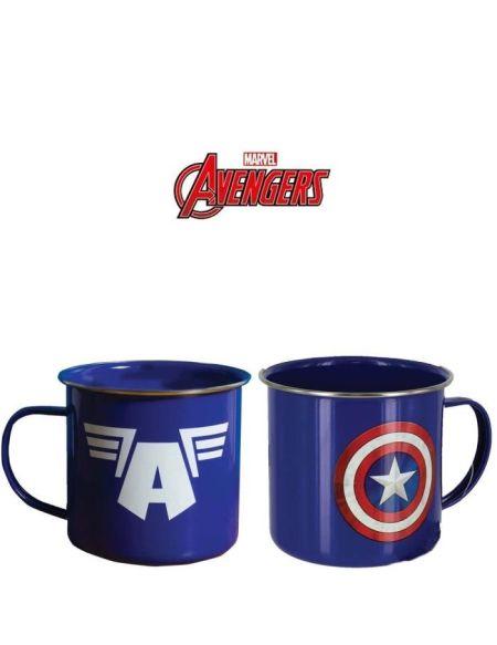 Mug en métal Marvel - Avengers: Captain America