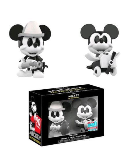 Figurine Funko Mini Vinyl -Disney : 2PK Mickey Mouse (B&W)