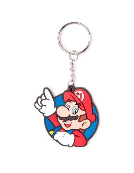 Porte-clés caoutchouc Mario: Mario