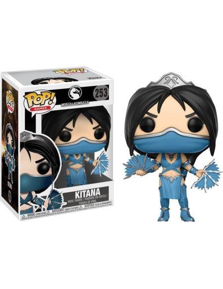 Kitana - Mortal Kombat - Figurine Funko POP n°253