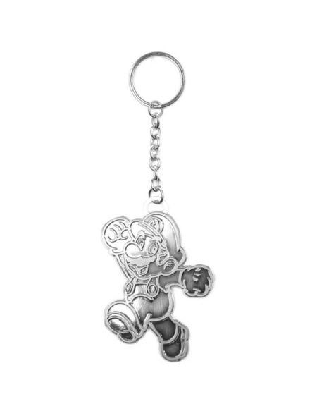 Porte-clés Mario: Mario métallique