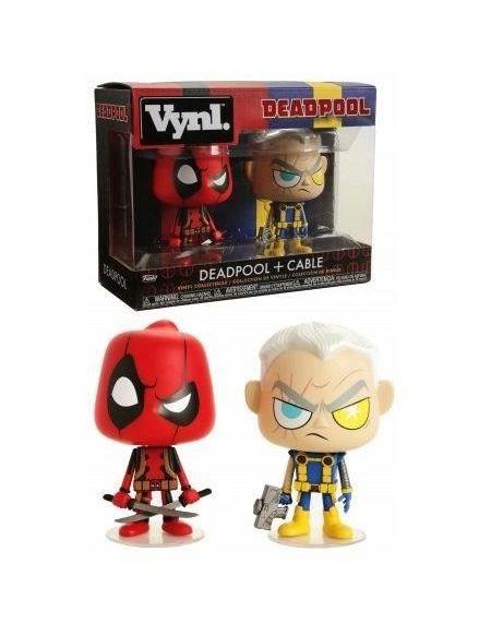 PACK 2 Figurines Funko Vynl Marvel - Deadpool: Deadpool & Cable 30489
