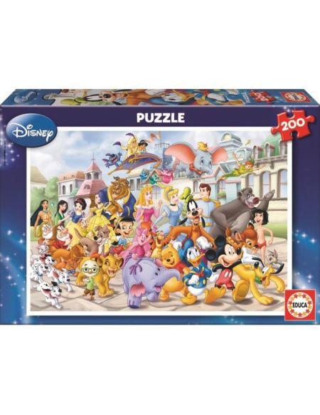 EDUCA - Disney Classiques - Puzzle - 200 pièces