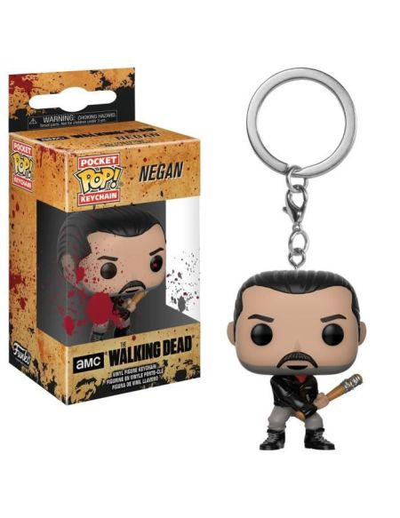 Porte-Clé Pocket Pop! The Walking Dead: Negan