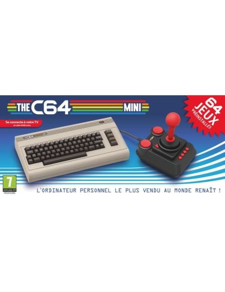 Console The Commodore 64 - C64 mini + 64 jeux inclus