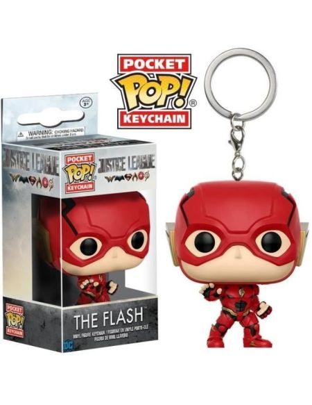 Porte clé Funko Pocket Pop! Justice League : The Flash