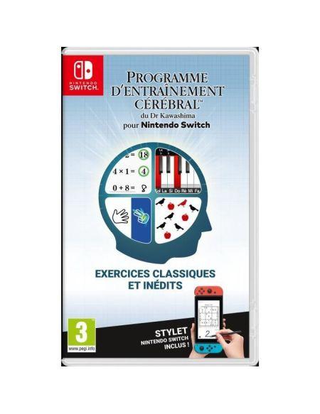 Programme d'entrainement cérébral du Dr Kawashima pour Nintendo Switch - Stylet inclus