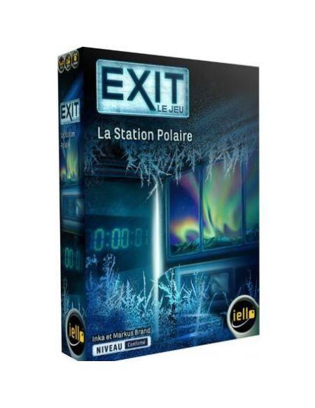 IELLO EXIT : Le Jeu - La Station Polaire - Jeu de société - Escape Games