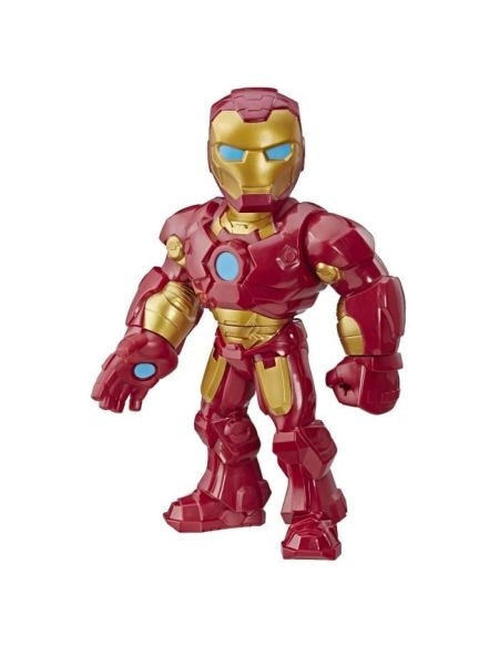 Marvel Avengers Playskool Super Hero Adventures Mega Mighties - Figurine Iron Man - 25 cm