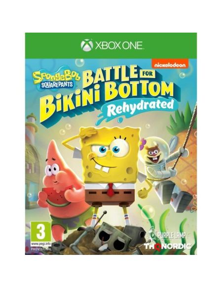 Spongebob Squarepants: Battle For Bikini Bottom - Rehydrated Jeu Xbox One