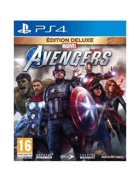 Marvel's Avengers Edition Deluxe Jeu PS4