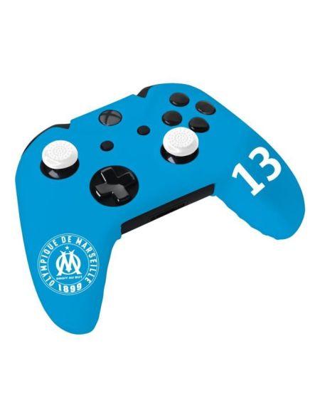 Kit e-sport Olympique de Marseille OM N°13 - Bleu - Pour manette Xbox One