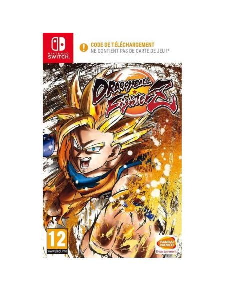 Dragon Ball Fighterz Jeu Nintendo Switch - Code in a box
