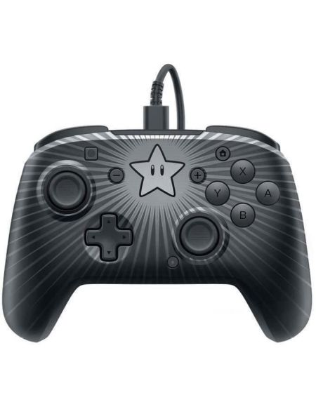 Manette Nintendo Switch filaire pro controller PDP - Edition Super Mario Star
