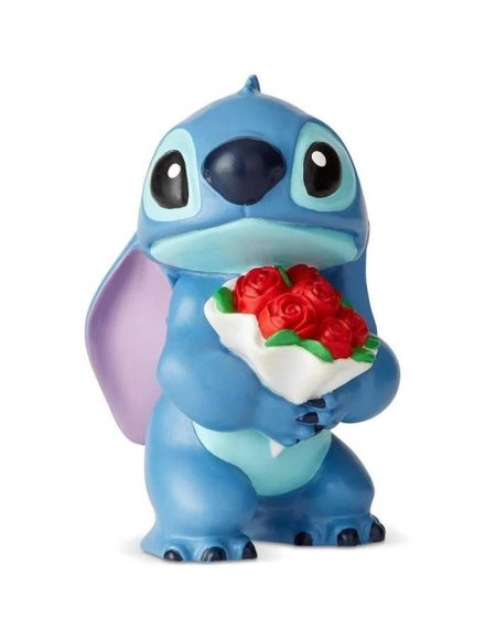 Figurine - DISNEY SHOWCASE - STITCH FLOWERS - Licence Officielle Lilo et Stitch - Enesco