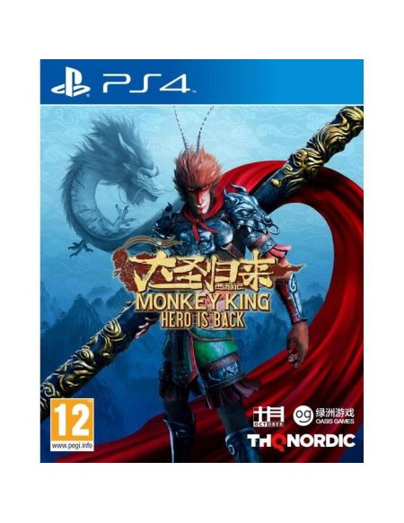 The Monkey King : Hero is Back Jeu PS4