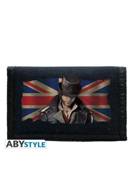 "ABYSTYLE Portefeuille Assassin'S Creed ""Syndicate/ Union Jack"" - Marine"