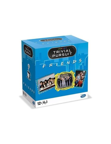 TRIVIAL PURSUIT - Friends - Format de voyage 600 questions - Jeu de societé - Version française