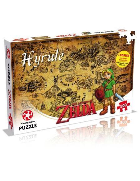 PUZZLE - Zelda - Hyrule - 500 pièces