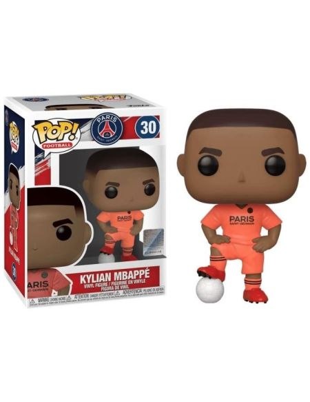 Figurine Funko Pop! N°30 - Football - Kylian Mbappé (psg) Away Kit