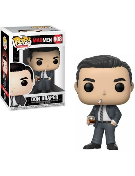 Figurine Funko Pop! N°908 - Mad Men S1 - Don Draper 1