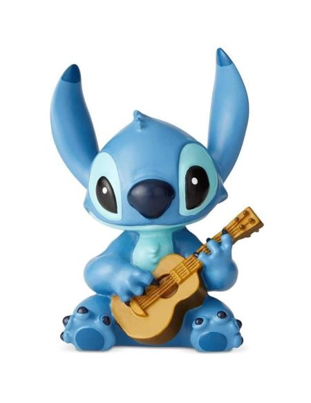 Figurine - DISNEY SHOWCASE - STITCH GUITARE - Licence Officielle Lilo et Stitch - Enesco