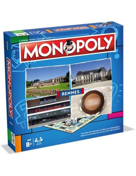 MONOPOLY - Rennes - Jeu de societé - Version française