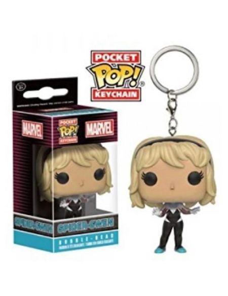 Porte-clé Funko Pop! Marvel : Spider Gwen