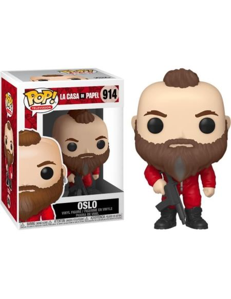 Figurine Funko Pop! TV : La Casa de Papel - Oslo