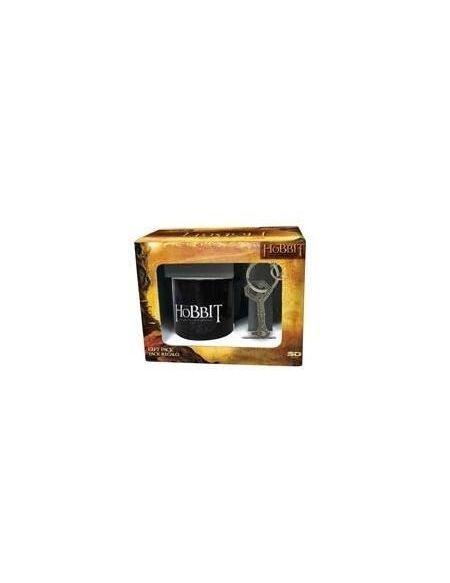 Pack cadeau B Le Hobbit : mug + porte clé d'Erebor