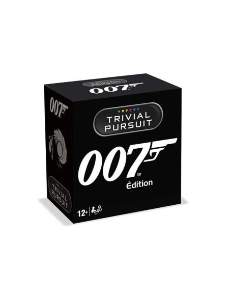 TRIVIAL PURSUIT - James Bond - Format de voyage 600 questions - Jeu de societé - Version française