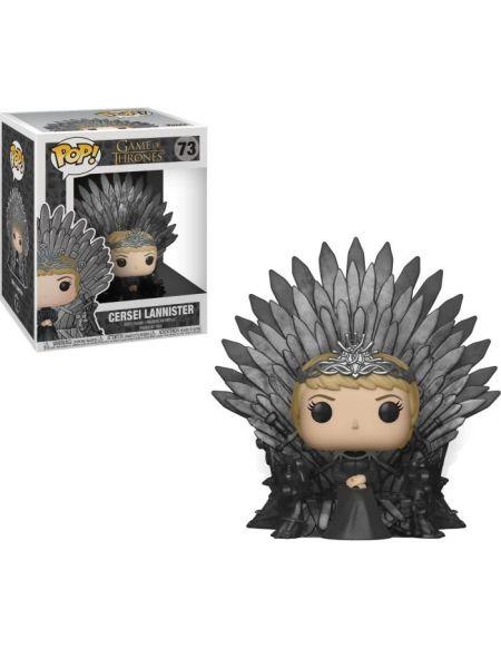 Figurine Funko Pop! Deluxe: Game Of Thrones S10 - Cersei Lannister (Assis sur le trône de Fer)
