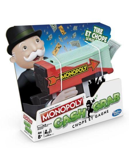 MONOPOLY - Cash & Grab, Chope et Gagne ! - Jeu de Société