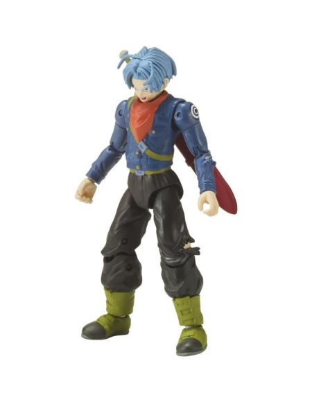 DRAGON BALL SUPER - Série 8 - Figurine Future Trunks 17cm + Broly Part. 4 - 35997