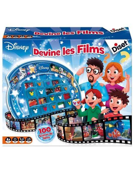 DISET - 46597 - Devine les Films Disney - Jeu de Société