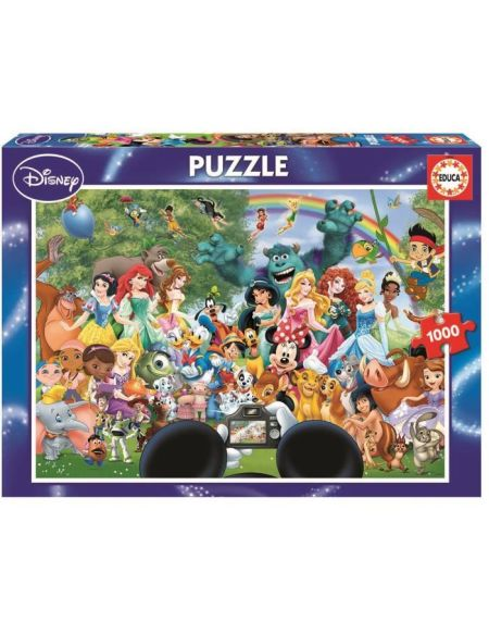 EDUCA - Disney Classiques - Puzzle Le merveilleux monde de Disney - 1000 pièces