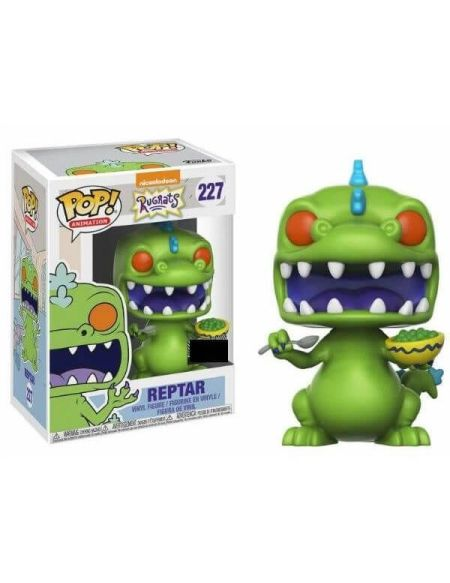 Figurine Toy Pop N°227 - Les Razmoket - Reptar W/ Cereal Box