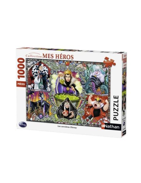 Puzzle Les méchantes de Disney - 1000 pièces - Ravenburger