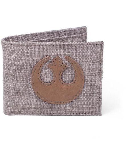 Portefeuille pliable en toile Star Wars: Emblème de l'Alliance Rebelle