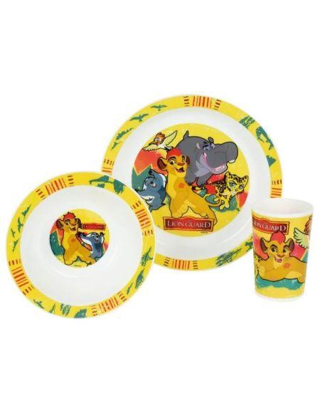 Disney Roi Lion Ensemble lunch : Assiette - Verre - Bol
