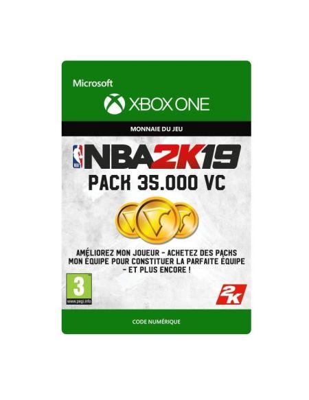 DLC NBA 2K19 : 35 000 VC pour Xbox One