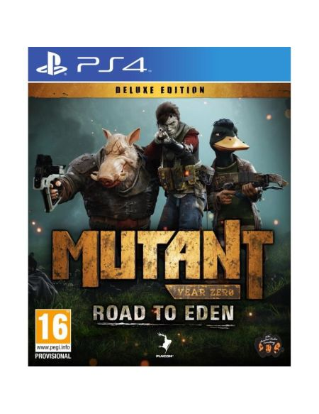 Mutant Year Zero Road to Eden Deluxe Edition Jeu PS4