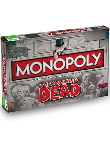 MONOPOLY The Walking Dead - Jeu de societé - Version française