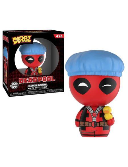 Figurine Funko Dorbz Marvel - Deadpool: Deadpool bonnet de bain - Exclusive