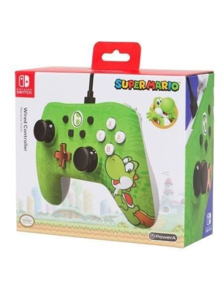 POWER A Manette pour Nintendo Switch iConic Yoshi