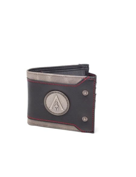 Assassin's Creed Odyssey - Portefeuille à 2 volets Noir